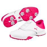 PUMA Blaze Disc Women's Golf Shoe - White/Pink