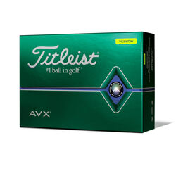 AVX Yellow Golf Balls - Personalized