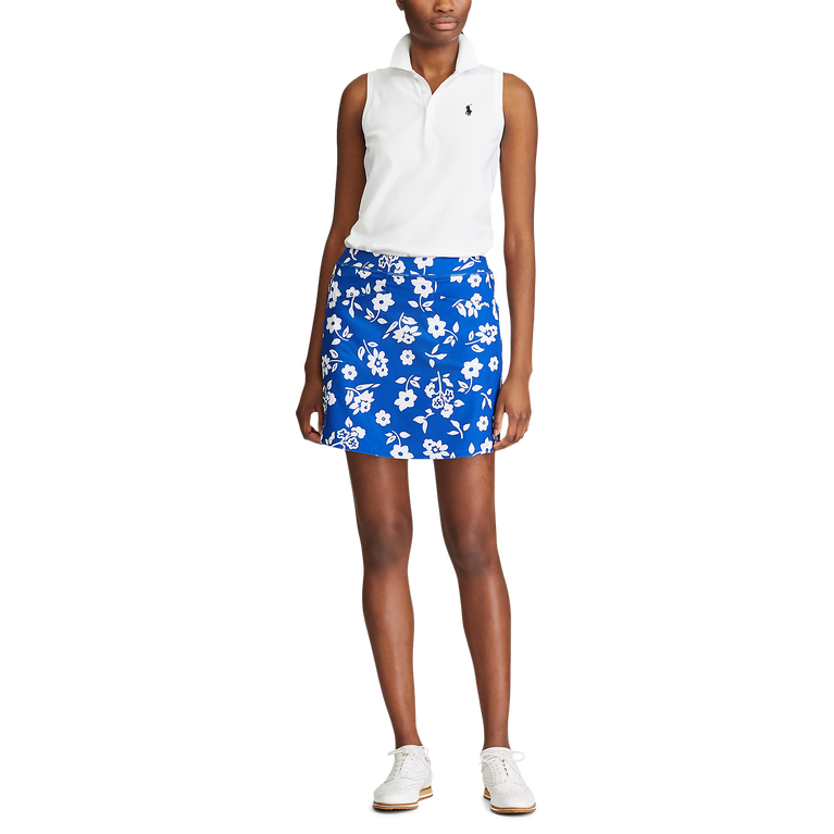 Royal Daisy Stretch Golf Skort