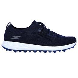 GO GOLF Max Glitter Women's Golf Shoe - Navy/White