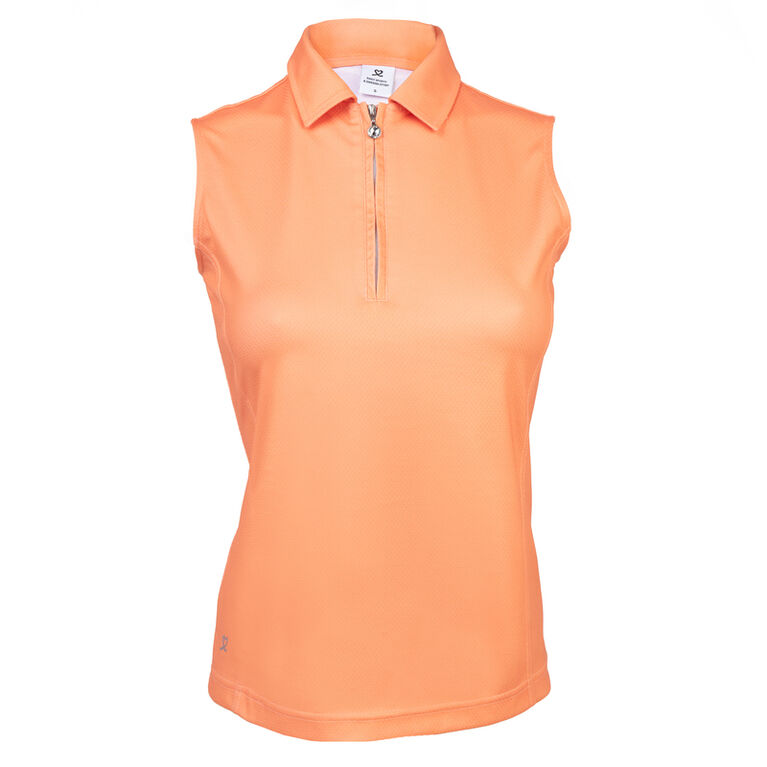 Coral Group: Macy Blossom Sleeveless Polo