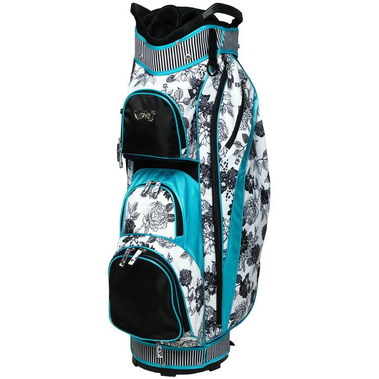 B/W Rose Cart Bag