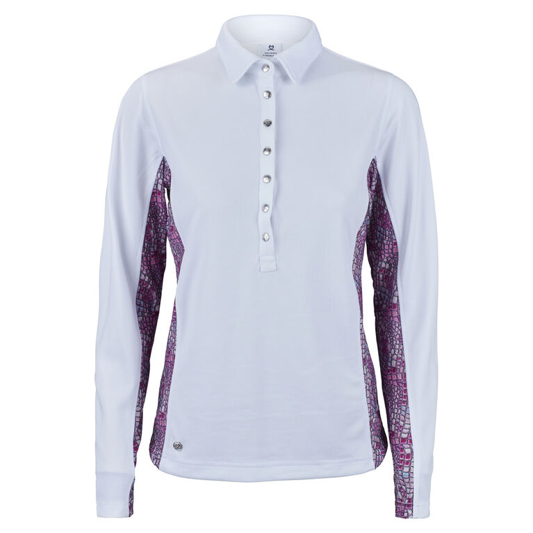 Daily Sports Court Long Sleeve Polo