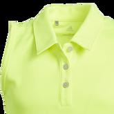 Alternate View 3 of Sleeveless Tournament Girls Polo Shirt