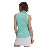 Alternate View 5 of Ultimate 365 Sleeveless Printed Trim Polo Shirt