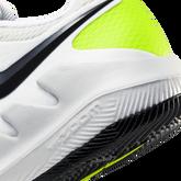 Alternate View 5 of NikeCourt Jr. Vapor X Kids' Tennis Shoe - White/Yellow