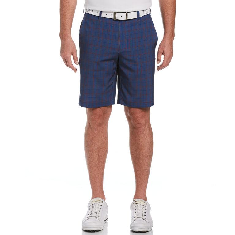 Glen Plaid Printed Golf Short