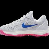 Alternate View 2 of Zoom Cage 3 Women's Tennis Shoe - Grey/Pink