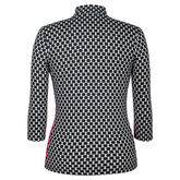 360 by Tail Oxford 3/4 Sleeve Top