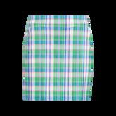 Plaid Pleated Golf Skort