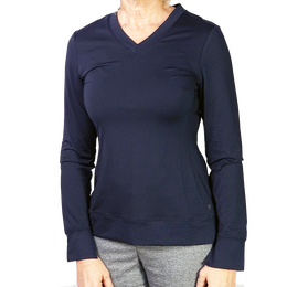 Women's Long Sleeve Core Pull Over Top