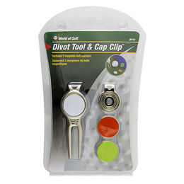 Divot Tool with Cap Clip 3 Markers