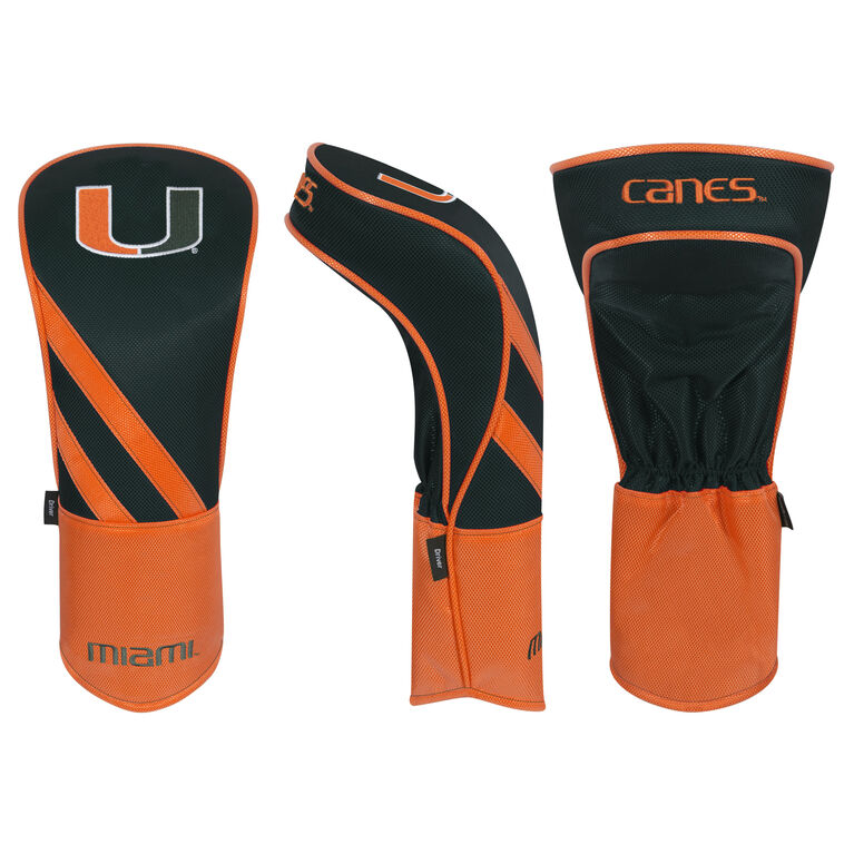Team Effort Miami Hurricanes Driver Headcover