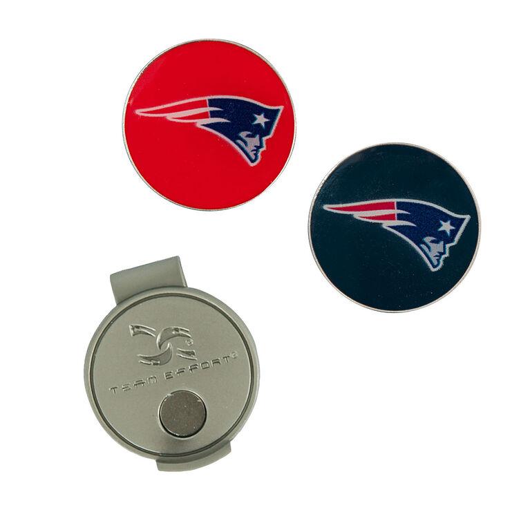 Team Effort New England Patriots Hat Clip & Ball Marker