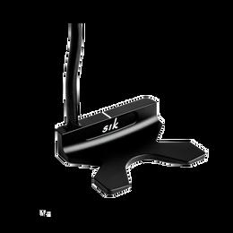 FLO C-Series Double Bend Matte Black Putter