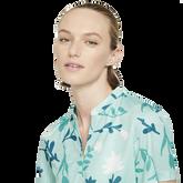 Alternate View 1 of Breathe Floral Print Short Sleeve Golf Shirt