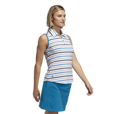Alternate View 1 of Ultimate365 Sleeveless Stripe Polo Shirt
