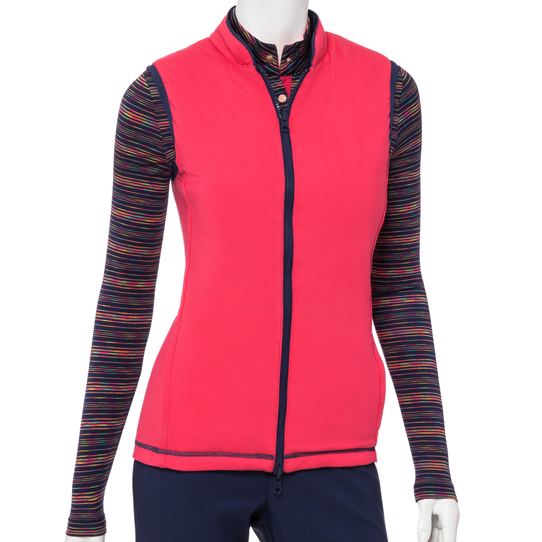 The Gemstones Collection: Reversible Quilted Vest