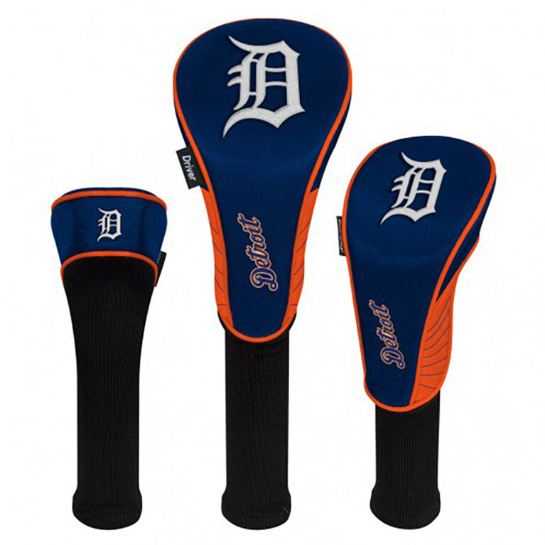 Detroit Tigers Set of 3 Headcovers