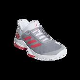 adizero Club Women's Tennis Shoe - Grey/Red