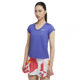 Dri-FIT Women's Short-Sleeve Tennis Top