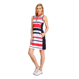 Tail Jade Stripe Jacquard Dress