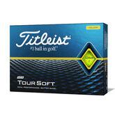 Tour Soft Yellow Golf Balls - Personalized