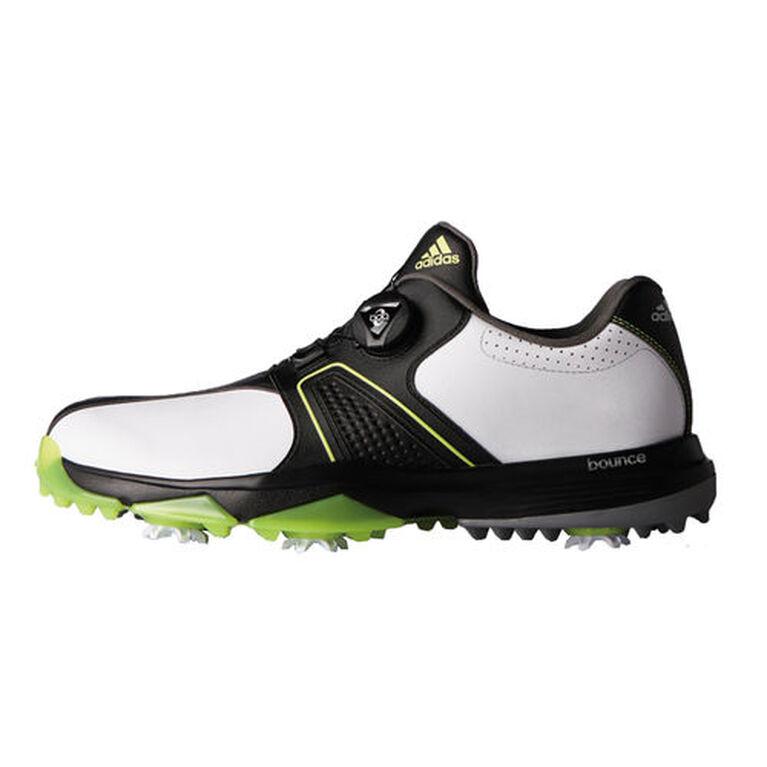 adidas 360 Traxion BOA Men's Golf Shoe - White/Black