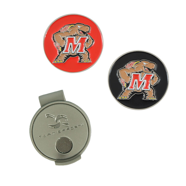 Team Effort Maryland Terrapins Hat Clip