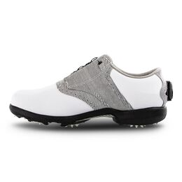 DryJoys BOA Women's Golf Shoe - White/Black