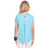 Alternate View 1 of Fiji Collection: Short Sleeve Solid Golf Top
