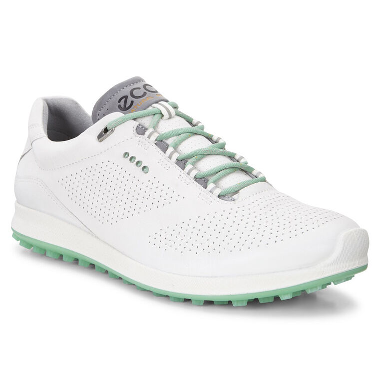 ECCO BIOM Hybrid 2 Perf Women's Golf Shoe - White/Green