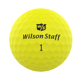 Alternate View 1 of DUO Professional Matte Yellow Golf Balls - Personalized