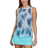 Speed Lines Collection: Airflow Printed Tank Top