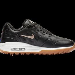 Air Max 1 G Women's Golf Shoe - Black