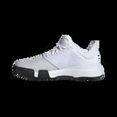 Alternate View 1 of adidas GameCourt WIDE Men's Tennis Shoe - White/Black
