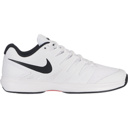 Air Zoom Prestige Men's Tennis Shoe - White/Black/Red