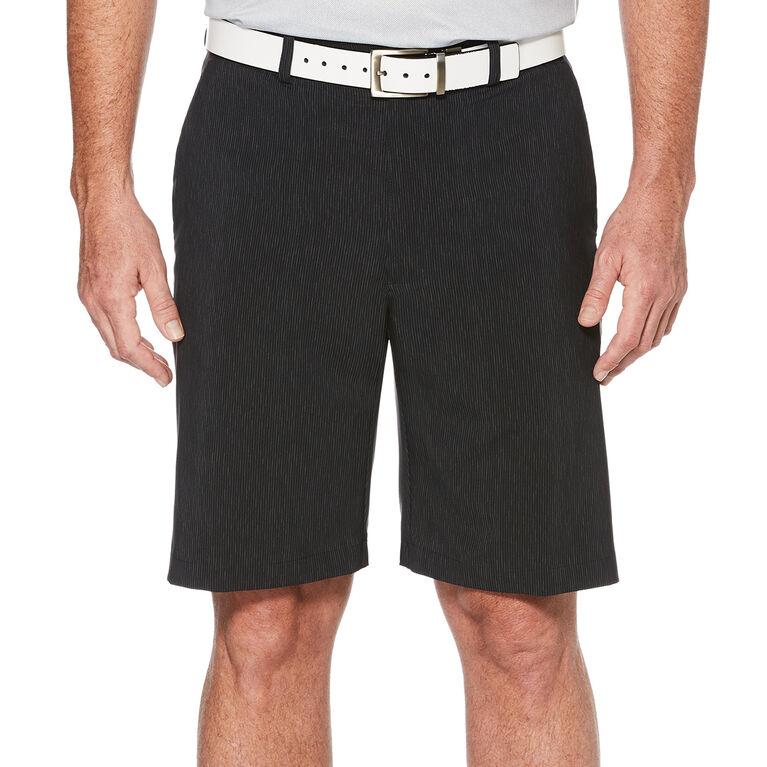 PGA TOUR Men's Hybrid Vertical Linear Printed Short w/ Active Waistband