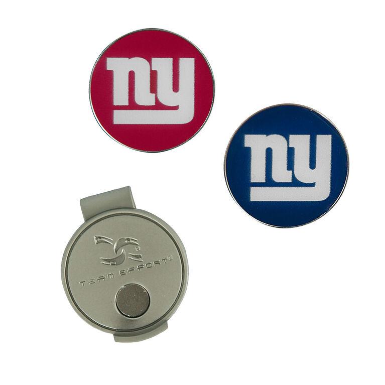 Team Effort New York Giants Hat Clip & Ball Marker