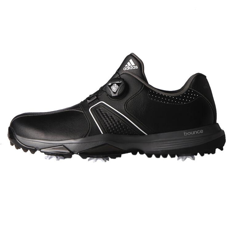 360 Traxion BOA Men's Golf Shoe - Black/Silver