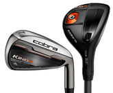 Cobra King F6 Combo Irons w/Graphite Shafts