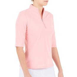 Pink Art Collection: Noa Elbow Sleeve Polo
