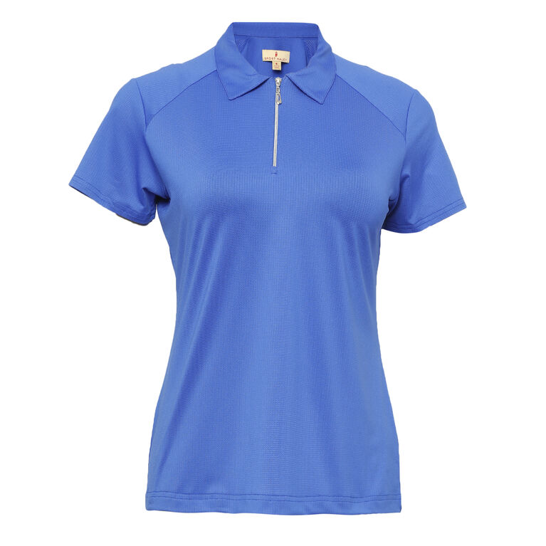 Off The Charts: Lulu Short Sleeve Polo