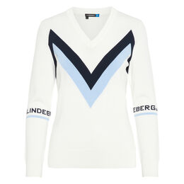 Celine Long Sleeve Zig Zag Sweater