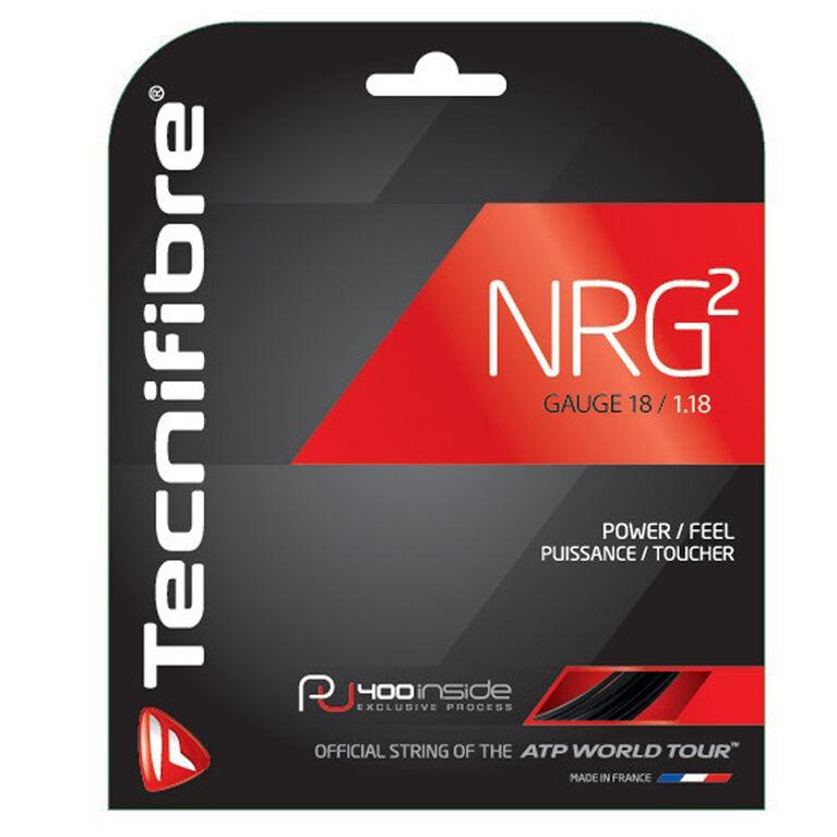 Tecnifibre NRG2 18 Gauge String Set - Black