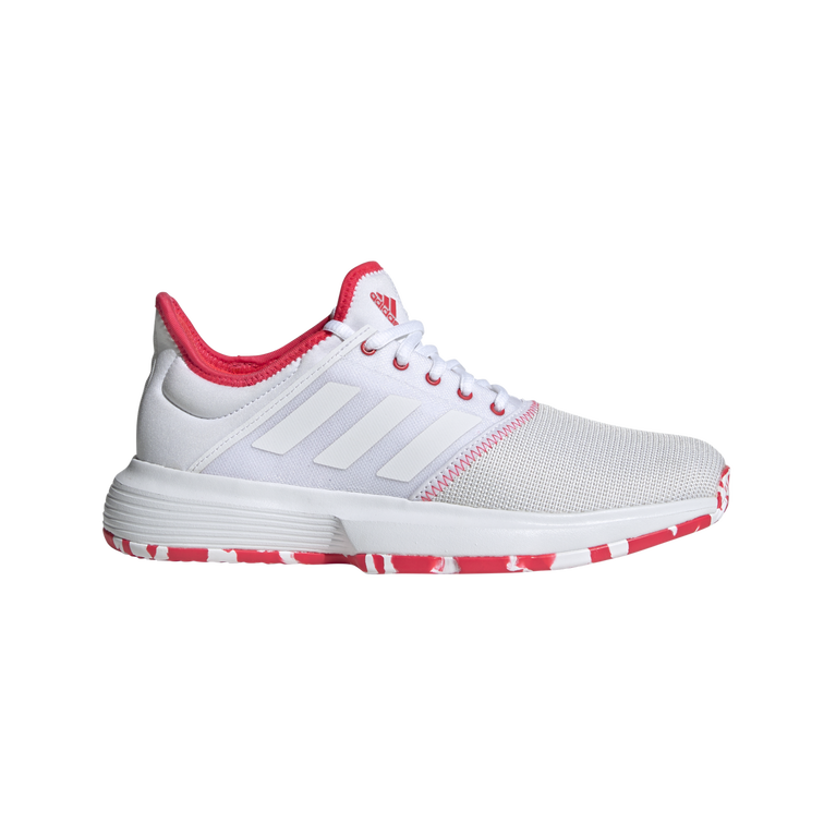 GameCourt Women's Tennis Shoe - White/Red