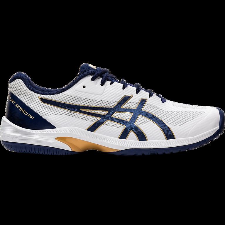 COURT SPEED FF Men's Tennis Shoes - White/Navy