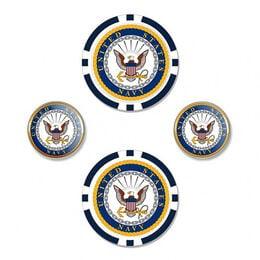 Navy Ball Marker Set