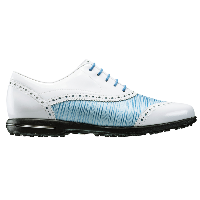 FootJoy Tailored Collection Women's Golf Shoe - White/Blue