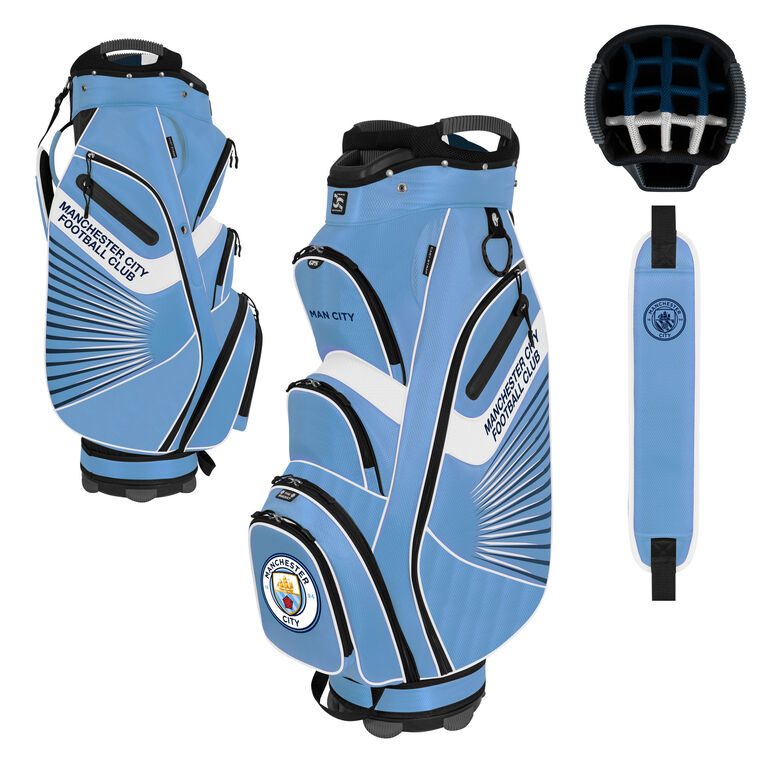 Team Effort Manchester City Bucket II Cart Bag